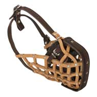 Basket-Like Newfoundland Muzzle Leather