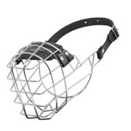 Wire Cage Newfoundland Muzzle With One Strap