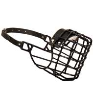 Frost-Resistant Wire Cage Newfoundland Muzzle with One Adjustable Strap