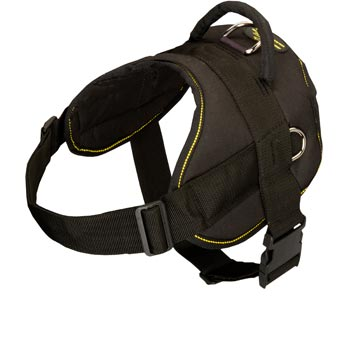 Nylon All Weather Newfoundland Harness for Service Dogs