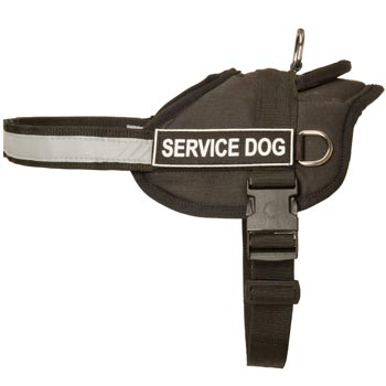 Newfoundland Harness Nylon with Reflective Strap