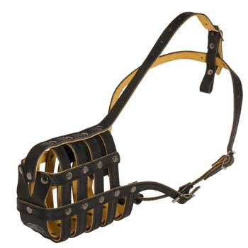 Leather Basket Newfoundland Muzzle